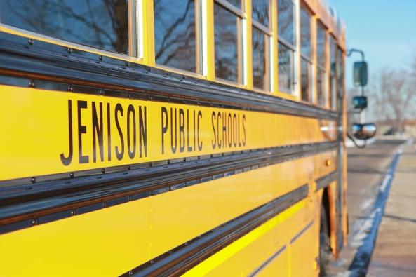 Jenison Public Schools, Bond Dollars, New Buses