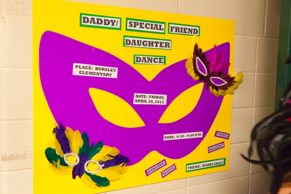 JPS, Bursley Elementary School, Daddy-Daughter Dance