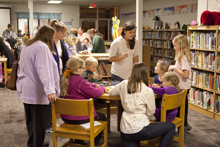 JPS Math Night, Rosewood Elementary, Grand Valley State University, GVSU