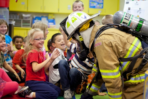 Fire Prevention Week, Jenison Public Schools, Sandy Hill Elementary School