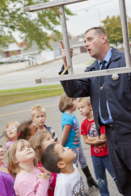 Jenison Public Schools, Fire Prevention Week, Sandy Hill Elementary School