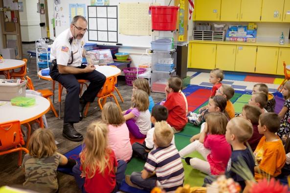 Jenison Public Schools, Sandy Hill Elementary School, Fire Prevention Week