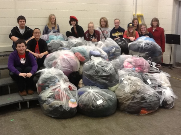 Coats From Choirs, Jenison Public Schools, Jenison Junior High