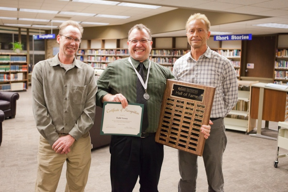 Todd Avery, William Waalkes, Tom Dracht, Michigan Thespians Hall of Fame