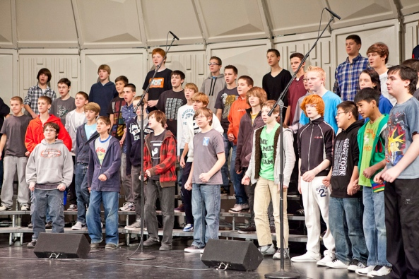 Jenison Junior High, Mr. Steven Waters, Mr. Les Rowsey, Michigan Music Conference