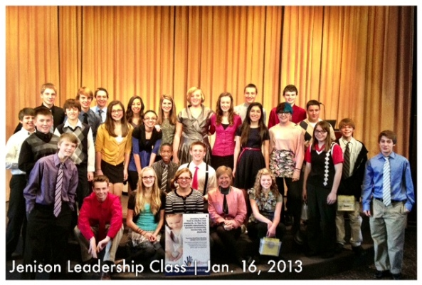 Jenison Junior High School, Jenison Public Schools, Teen Leadership Class, Poverty Challenge, Hand 2 Hand, fighting hunger