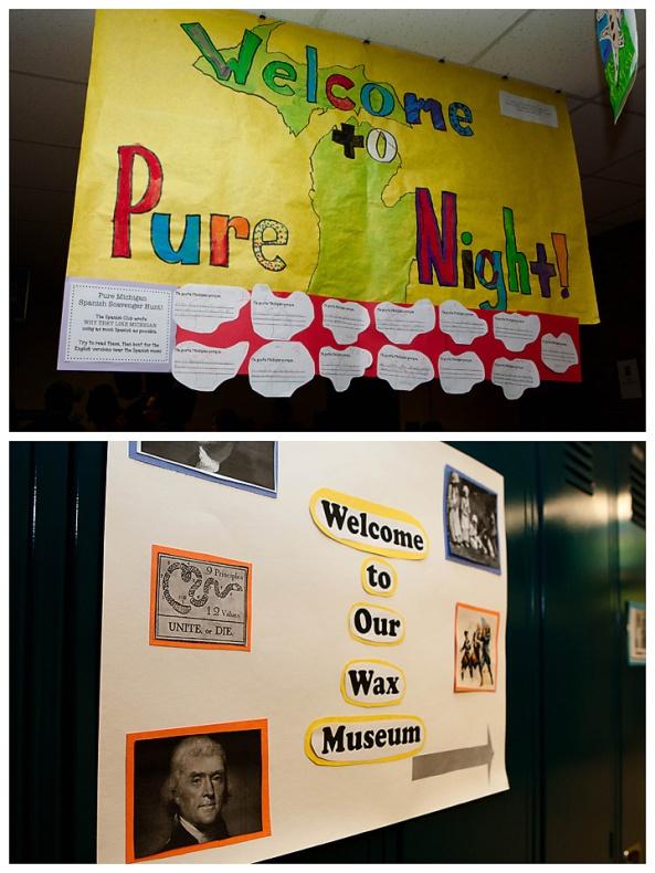Pure Michigan, Wax Museum, Sandy Hill Elementary School, Jenison Public Schools