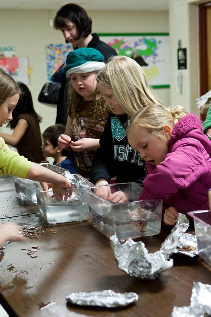 Jenison Public Schools, GVSU, Science Night, Bursley Elementary