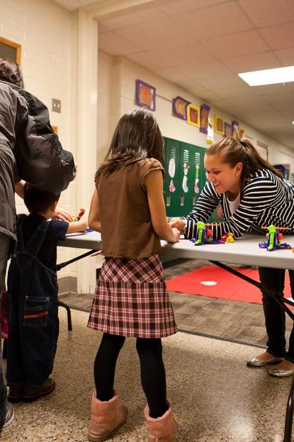 Jenison Public Schools, Bursley Elementary, GVSU, Science Night,