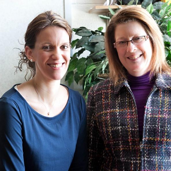 Photo of Deb and Alana