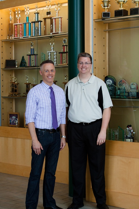 Jenison Public Schools, Dave Zamborsky, Dan Scott, MSBOA Awards