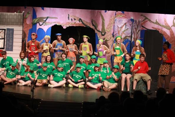 Hansel & Gretel, Missoula Children's Theatre, Jenison Public Schools