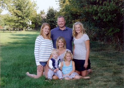 photo of the Arnold Family, Jenison Public Schools