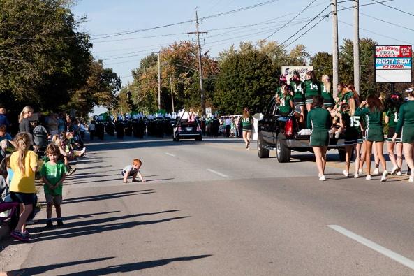 Jenison High School Homecoming, parade