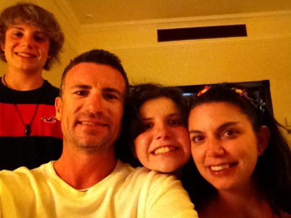 Brett + his family on Spring Break in the Dominican Republic!