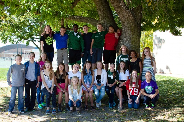 2014 -- 2015 Jenison Jr High Elected Officers and Class Representatives!  Congratulations!