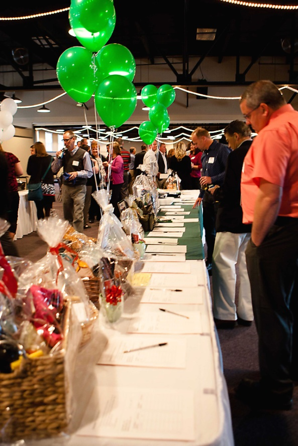 Silent auction items were entirely donated by local businesses and community members!