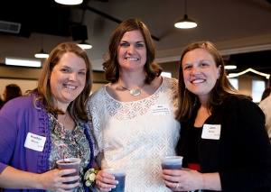 Jennifer Crisman-Coffey [center] with friends