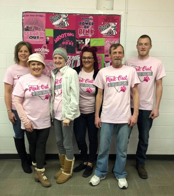2019 Pink Out Honorees